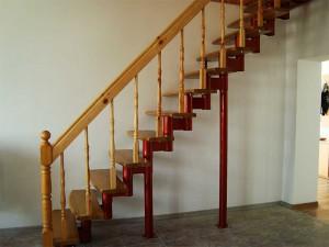 Пример неудачного выбора внешнего вида лестницы